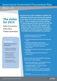 The vision for 2015 - Department of Housing and Public Works ...