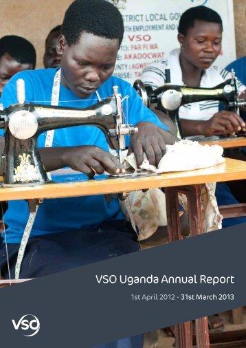 VSO Uganda Annual Report 2012/13 (1841KB)