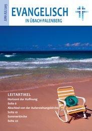 leitartikel - Evangelisch in Übach-Palenberg