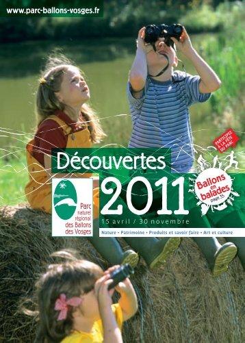 Calendrier PNRBV 2011 .pdf - Parc naturel régional des Ballons des ...
