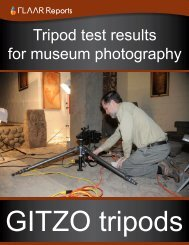GITZO tripods - Digital photography camera reviews