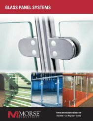 GLASS PANEL SYSTEMS - Morse Industries