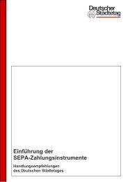 Einführung der SEPA-Zahlungsinstrumente - Sparkasse Erlangen