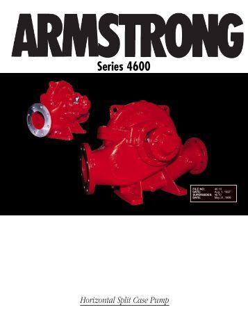 Horizontal Split Case Pump Series 4600 - Armstrong Pumps