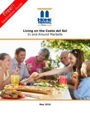 Living on the Costa del Sol - HomeRentalontheWeb