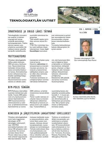 Lehti no 1 - Centria tutkimus ja kehitys