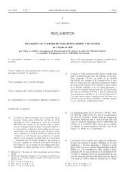 Reglamento (UE) no 640/2010 del Parlamento Europeo ... - EUR-Lex