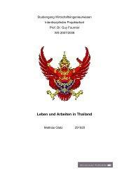 Leben und Arbeiten in Thailand - Easythailand