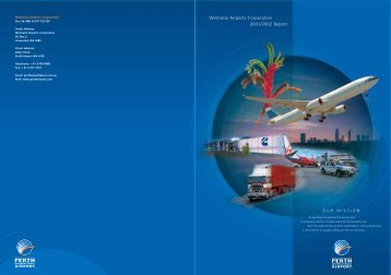 Westralia Airports Corporation Annual Report 2001 ... - Perth Airport