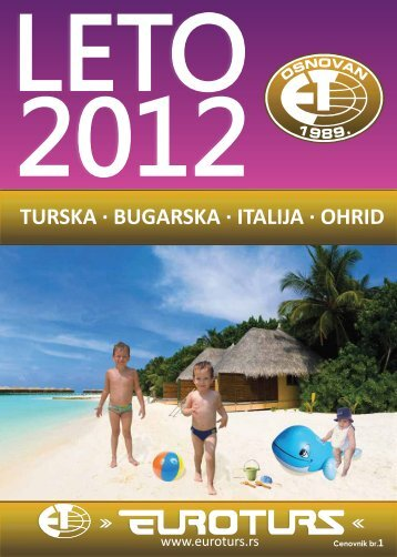 Preuzmite LETO 2012 - Euroturs
