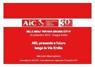 AIC, presente e futuro lungo la Via Emilia - Azienda USL di Reggio ...