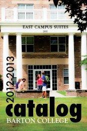 2012 – 2013 - Barton College
