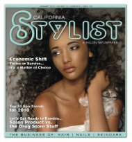 0110 CA Stylist.indd - Stylist and Salon Newspapers
