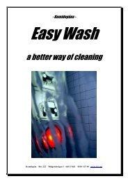 Kemidepåns Easy Wash System