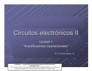 Circuitos electrónicos II