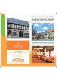 522 Direkt neben dem Rathaus, im Herzen Wernige- rodes, befindet ...