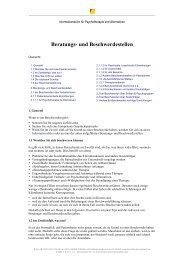 Beratungs- und Beschwerdestellen - Netzwerk Psychotherapie und ...