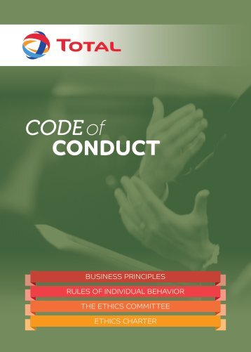 CODE of CONDUCT - Total.com