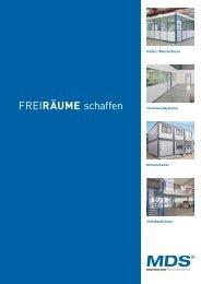 Hallen-/Meisterbüros Trennwandsysteme ... - Alpinservice