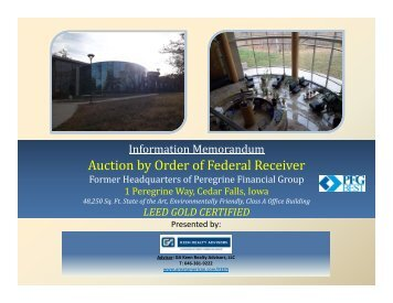 Auction by Order of Federal Receiver y - Great American Group