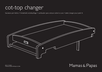 cot-top changer - Mamas & Papas