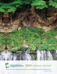 2011 ANNUAL REPORT - Niagara Peninsula Conservation Authority