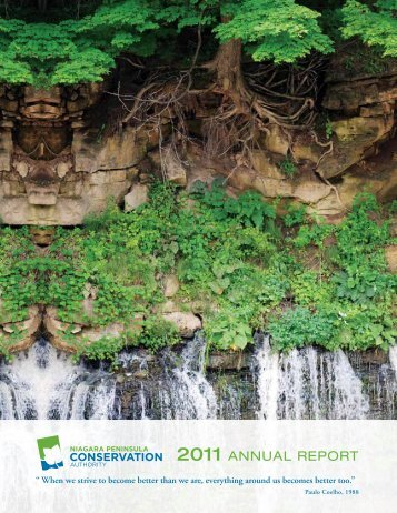 2011 ANNUAL REPORT - Niagara Peninsula Conservation Authority