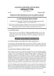 NEWSLETTER - UQ eSpace - University of Queensland