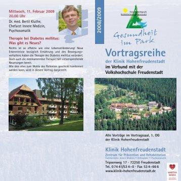 HFDS-Gesu im Park-080808-k - Klinik Hohenfreudenstadt