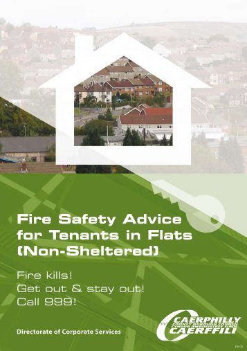 Fire Safety Advice for Tenants in Flats (Non-Sheltered)