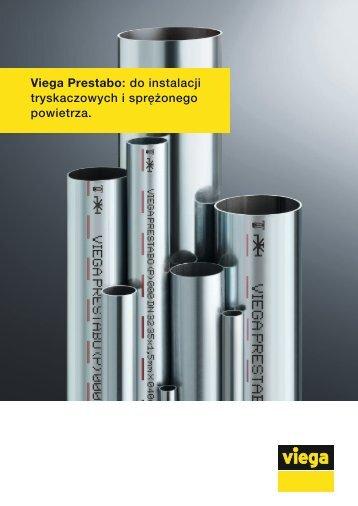 Viega Prestabo: do instalacji tryskaczowych i sprężonego powietrza.