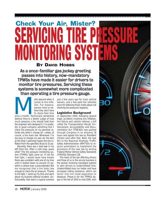 Check Tpms System >> Tpms Servicing Check Your Air Mister Etv Com Au