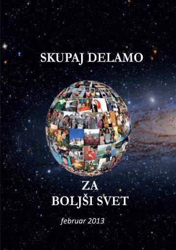 e-Mesečnik 23.02.2013, Barbara Hribar Februar ... - ForBetterWorld.si