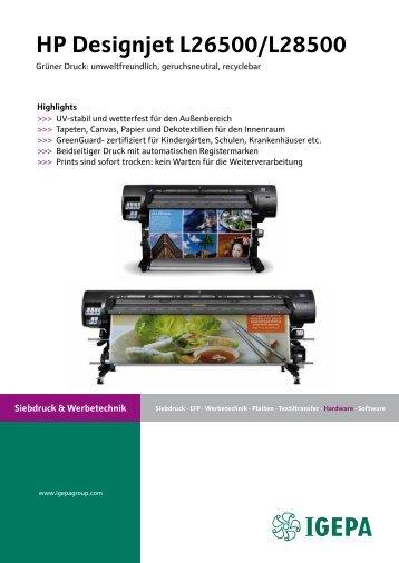 HP Designjet L26500/L28500