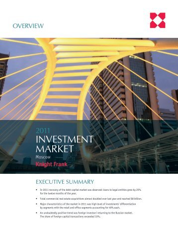 INVESTMENT MARKET - Knight Frank