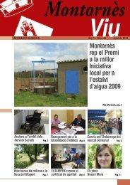 Juliol - Ajuntament de Montornès del Vallès