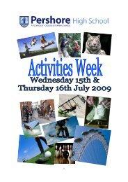 Activities Week Brochure 2009.pub (Read-Only) - Pershore High ...