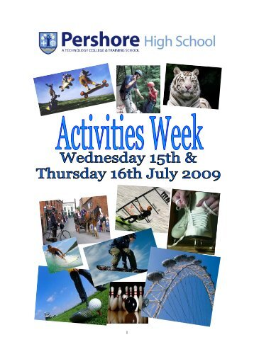 Activities Week Brochure 2009.pub (Read-Only) - Pershore High ...