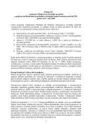 Přílohy III pro roky 2008 a 2009 - Státní fond životního prostředí