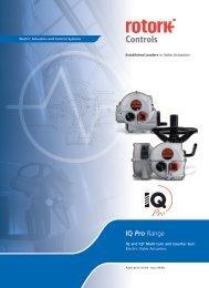 IQ Pro Range - Rotork