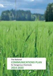 COMMUNICATIONS PLAN 2014-2020