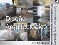 Asignaturas de Diseño Arquitectónico - ENHSA