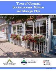 2009 Socioeconomic Mission and Strategic Plan - Town of Georgina