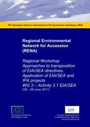 EIA SEA Workshop July 2011 Turkey PPTs.pdf - RENA