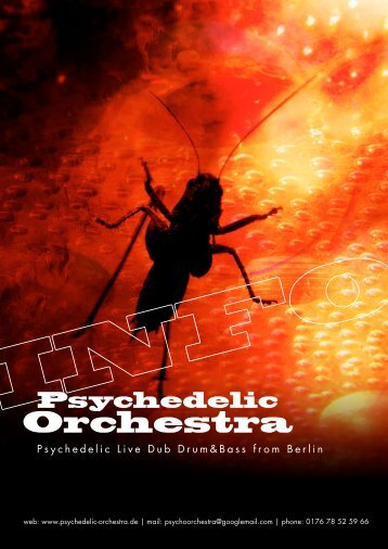 We are the dramatic Psycho Orchestra We will destroy your taste ...