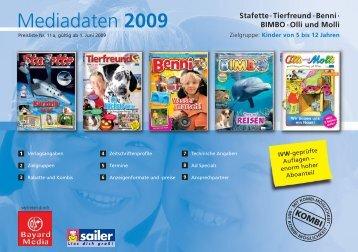 Mediadaten 2009 - Bayard Media