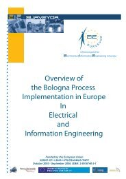 Implementation in Europe in Electrical and ... - tuning project