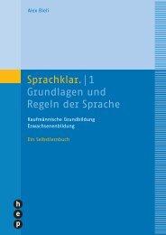 Sprachklar.| 1 Grundlagen und Regeln der Sprache