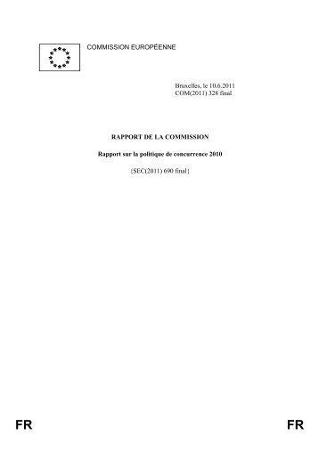 (2011) 328 final - EUR-Lex - Europa