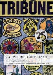 Jahresbericht 2012 - Fan-Projekt Dortmund